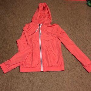 Coral light jacket
